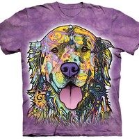 Golden Retriever Colorful