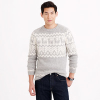 INDUSTRY OF ALL NATIONS™ HAND KNIT ALPACA SWEATER