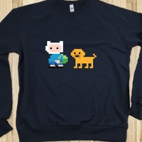 8-BIT ADVENTURES SWEATER