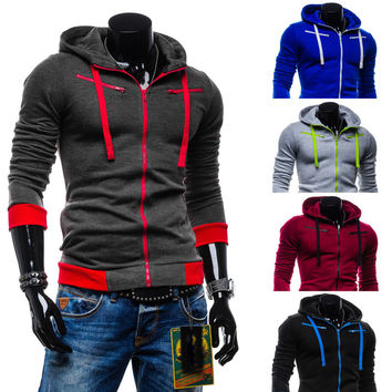 Winter Hoodies Men Hats Casual Jacket [6528654147]