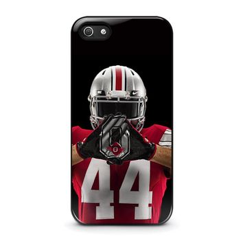 OHIO STATE BUCKEYES FOOTBALL iPhone 5 / 5S / SE Case Cover