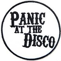 PANIC AT THE DISCO Heavy Metal Punk Rock Music Band Logo Patch Sew Iron on Embroidered Appliques Badge Sign Costume Gift by PRINYA SHOP