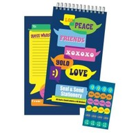 Bubble Talk Seal & Send Stationery