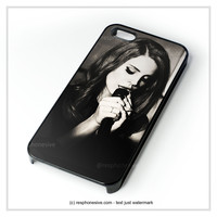 Lana Del Rey Sexy iPhone 4 4S 5 5S 5C 6 6 Plus , iPod 4 5 , Samsung Galaxy S3 S4 S5 Note 3 Note 4 , HTC One X M7 M8 Case