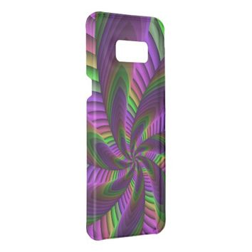 Neon Colors Flash Crazy Colorful Fractal Pattern Get Uncommon Samsung Galaxy S8 Plus Case