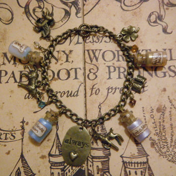 Harry Potter Potions and Charms Bracelet by KawaiiCandyCouture