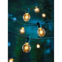 Room Essentials Clear Globe Lights (25 Counts)