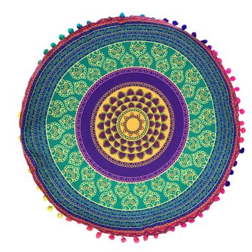 7 patterns new Indian Mandala Floor Pillows  3