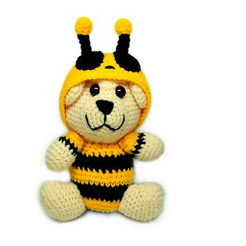 Callisto Bumble Bear Crochet Teddy Bear