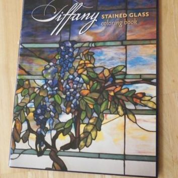 Tiffany Stained Glass Coloring Book by Patrice Morris
