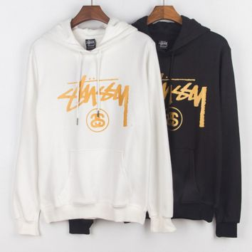 Stussy Print long sleeve hedging sweater