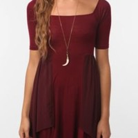 UrbanOutfitters.com > Pins and Needles Chiffon-Trim Knit Dress