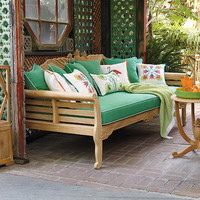 Teak Pineapple Daybed