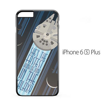 Millenium Falcon Star Wars iPhone 6s Plus Case
