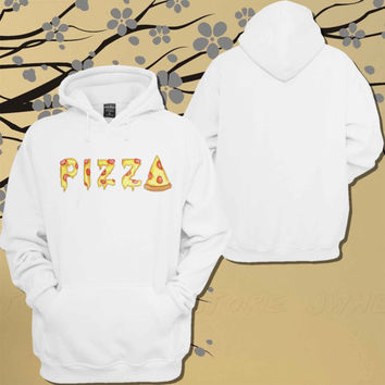 Pizza Hoodie.Sweater.Jumper - Size Unisex Hoodie - For Women,Men