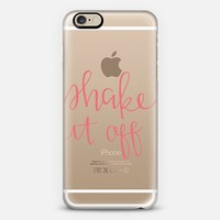 Shake it off - coral iPhone 6 case by Chalkfulloflove | Casetify