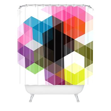 Three Of The Possessed Modele 9 Shower Curtain
