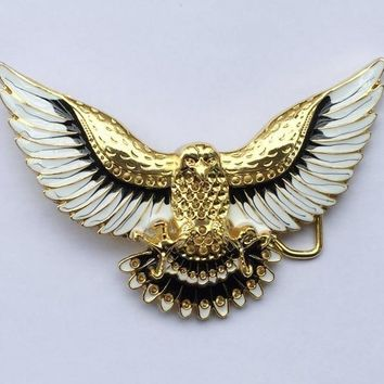 Western Eagle Belt Buckle SW-BY475 suitable for 4cm wideth belt with continous stock