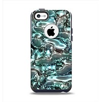 The Teal Mercury Apple iPhone 5c Otterbox Commuter Case Skin Set