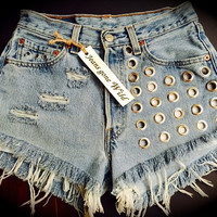 NEW High waisted Megan Shorts, Levi's cut offs all sizes. s,m,l,xl