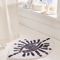 Tufted Eye Bath Mat | Urban Outfitters