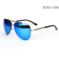 Aviator Style Men Sunglasses #S755-C58