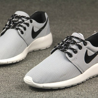 Gray Trendy Fashion Casual Sports sneakers shoes