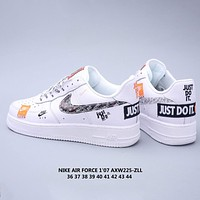 Free shipping / Nike Air Force 1 sneakers with built-in cushions shoes