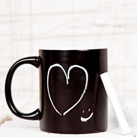 Chalk Board Mug at Urban Outfitters