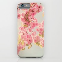 spring blossoms iPhone & iPod Case by Ingrid Beddoes