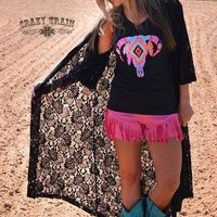 Black Betty Lace Duster
