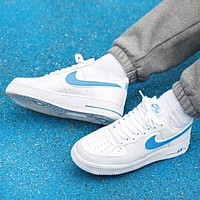 Nike Air Force New fashion hook couple running shoes