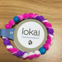 New Arrival Where dreams come true Lokai Bracelet (pink and white )