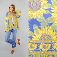 90's Sunflower TAPESTRY Jacket