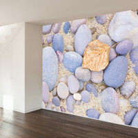 Paul Moore's Pebble Beach Mural wall decal
