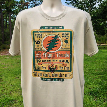 So Many Roads Grateful Dead T shirt