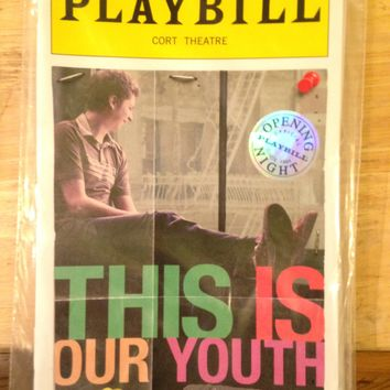 This Is Our Youth Opening Night Playbill