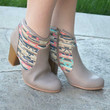 Walking On Clouds Booties - Taupe