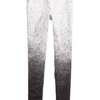 Paint Splatter Jeggings