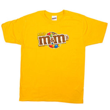 M&M's Candy Distressed Logo T-Shirt - Peanut - Adult - XLarge
