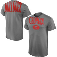 Georgia Bulldogs Highway Ring Spun T-Shirt – Gray