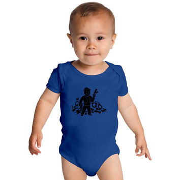 Fallout 3 Vault Boy Baby Onesuits