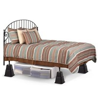 Adjustable Bed Risers - Walmart.com