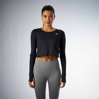 Gymshark Drawcord Crop Top - Black