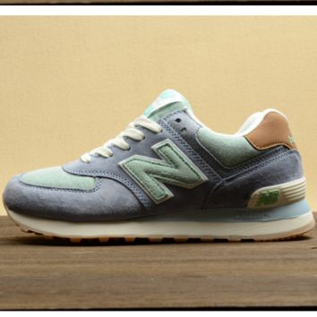 New balance Leisure shoes running shoes men's shoes for women's shoes couples N word Dark grey