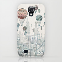 Voyages Over New York Galaxy S4 Case by David Fleck | Society6