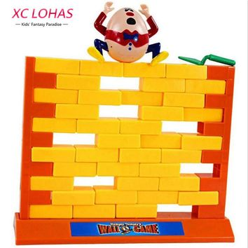 Creative Wall Demolish Game Humpty Dumpty's Wall Game Interactive Game Children Learning Educational Toys for Kids Fast Shipping