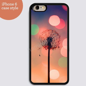 iphone 6 cover,Dandelion DreamCatcher colorful iphone 6 plus,heart case  Feather IPhone 4,4s case,color IPhone 5s,vivid IPhone 5c,IPhone 5 case 106