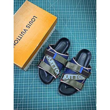 Louis Vuitton Monogram Slide Lv Sandals Style 2