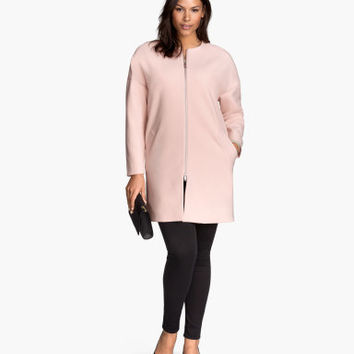 H&M H&M  Coat $69.95 from H&M | Plus Size- Pastels for Spring